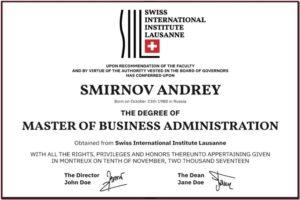 swiss international institute lausanne